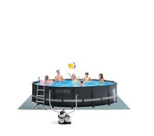 Intex Ultra XTR Frame Pool 488x122 cm. Set met zandfilterpomp