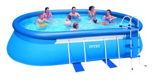 Intex Ovaal Frame Pool 549x305x107 cm