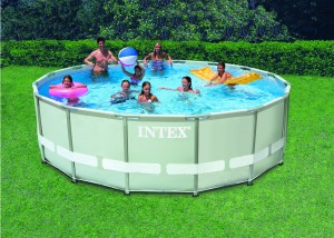 Intex Ultra Frame Pool 549x132 cm. Set met filterpomp
