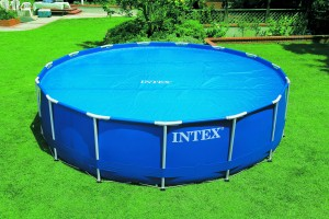 Intex solardeken voor de Metaal Frame Pool / Prism Pool / Utra Metaal Frame of Easy Set van 549 cm.