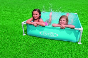 Intex Mini Frame Pool blauw