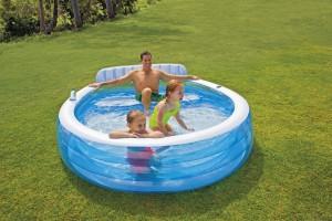 Intex Swim Center Family Lounge Pool met zitbank