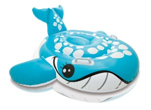 Intex Blauwe Walvis Ride-On
