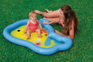 Intex Gutie Whale Baby Pool