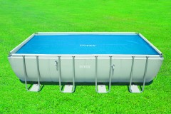 Intex solardeken voor de Ultra Rectangular Frame Pool of Ultra  XTR Rectangular Frame Pool van 732x366 cm.