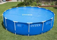 Intex solardeken voor de Ultra, Prism Metaal Frame Pool van 488 cm.