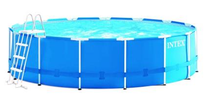 Intex Metaal Frame Pool 457 x 122 cm.