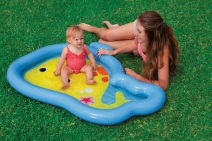 Intex Gutie Whale Baby Pool