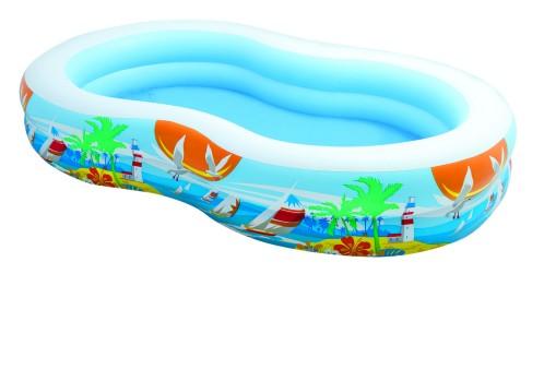 Intex Paradise Pool 262x160x46 cm.