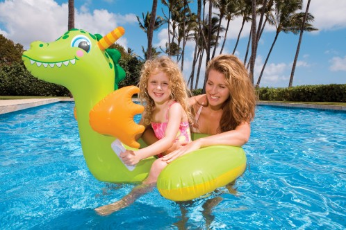 Intex Baby Dragon Ride-On