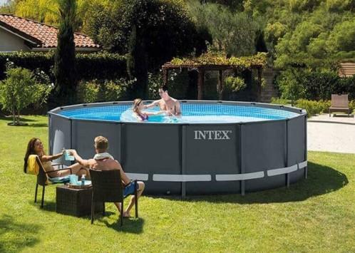 Intex Ultra XTR Frame Pool 610x122 cm.