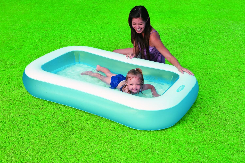 Intex rectangular baby pool nijhuishandel for Intex zwembad baby