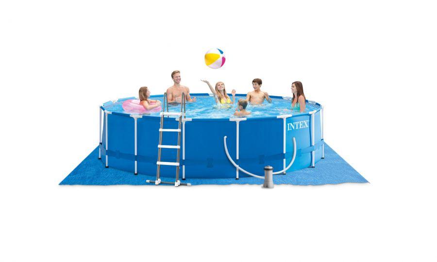 Intex metaal frame pool