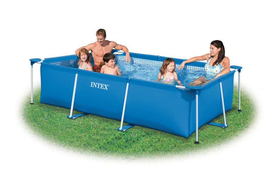 Intex Rectangular Frame 300x200x75 cm.