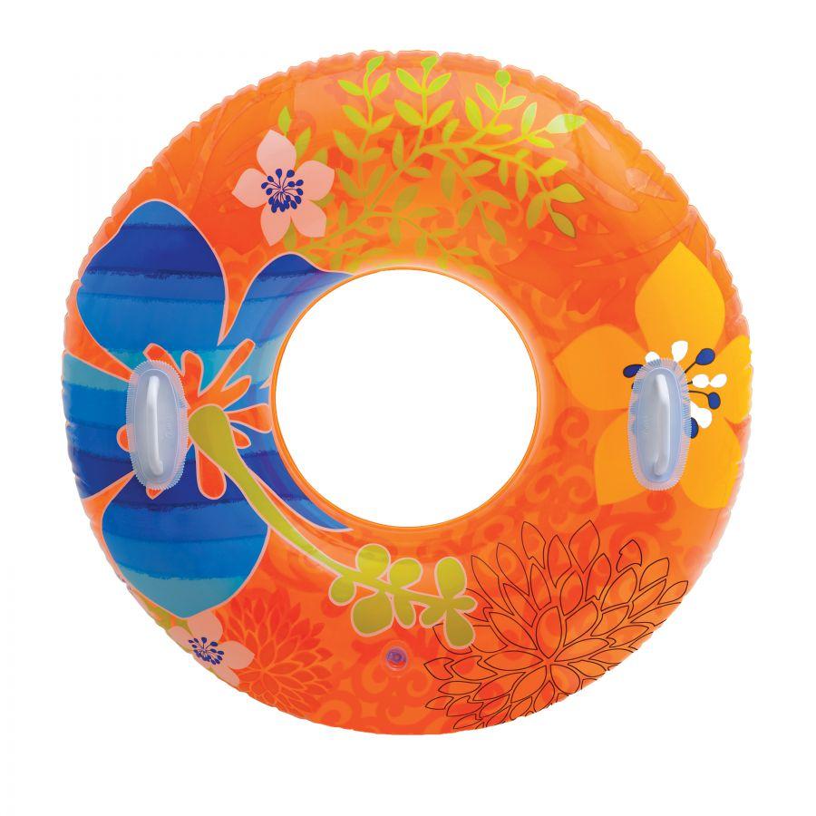 Intex Zwemband Transparante Tube 97 cm.