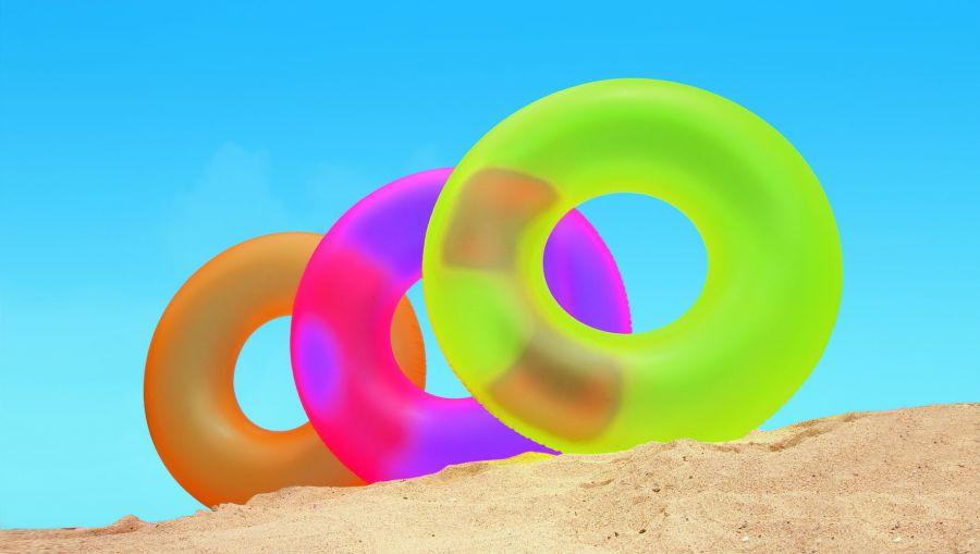 Intex Grote Neon Frost Zwemband 91 cm.