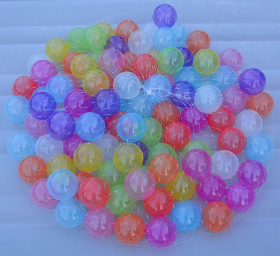 Ballenbakballen 10 kleuren pastel
