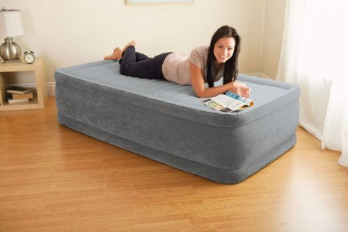 Intex Comfort Plush Elevated Luchtbed Twin