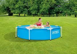 Intex Metaal Frame Pool 244x51 cm.